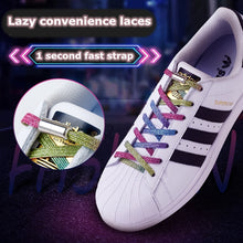 Load image into Gallery viewer, Uniquely Colorful Elastic No-tie Locking Shoelaces