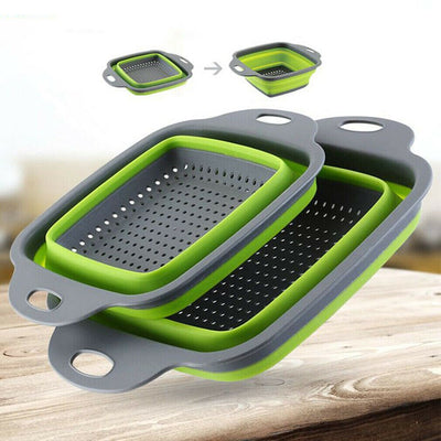 2pcs/set FOLANDER™ - Collapsible Washing Strainer Basket