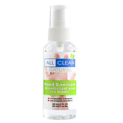 All Clean Hand Sanitizer – 60 mL Spray Bottle-Western Mask and Protective Equipment Inc