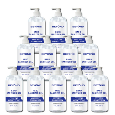 Case - Beyond 1 L Bottle Sanitizer - Case of 12 Bottles-Western Mask and Protective Equipment Inc