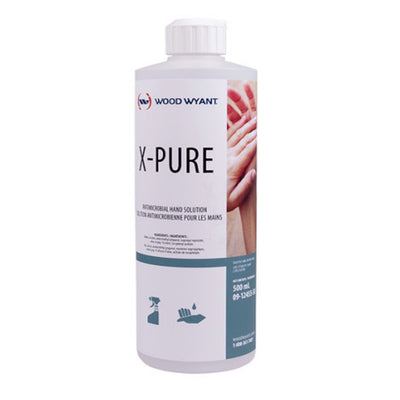 X-Pure Hand Sanitizer – 500 mL Bottle-Western Mask and Protective Equipment Inc