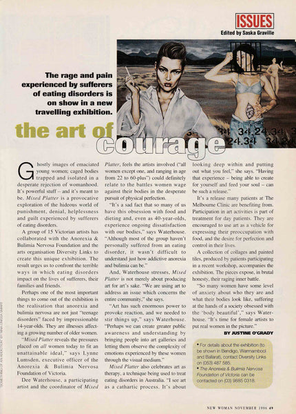 New Woman Magazine Nov 1996 'Something of an Addiction'