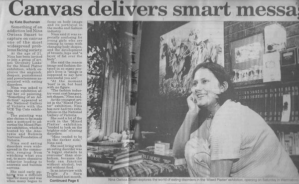 Nina Smart Interview, The Herald, March 1997