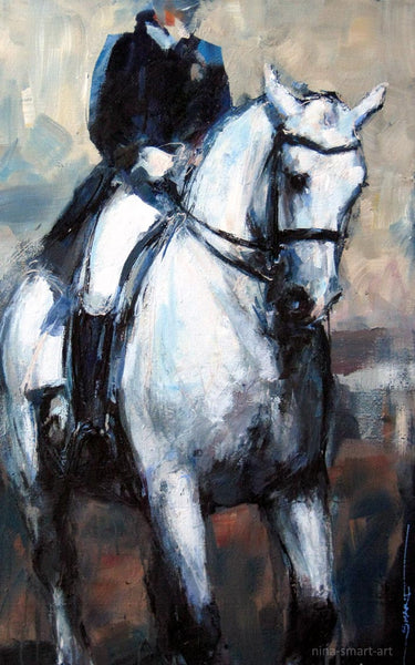 Dressage No.5 - in motion, Private Collection