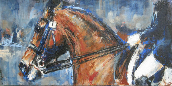 Dressage Under Lights - Private collection