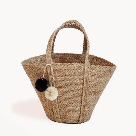 Savar Basket Tote short handle