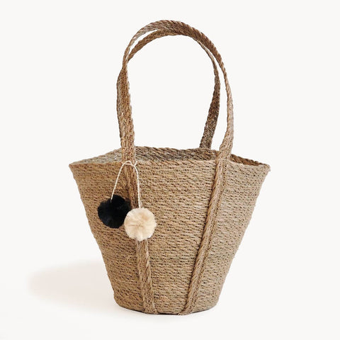 Savar Basket Tote long handle