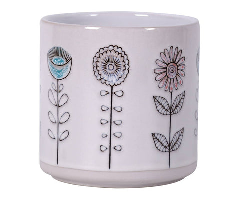 "5.25"" Bobby Garden Flower Pot"