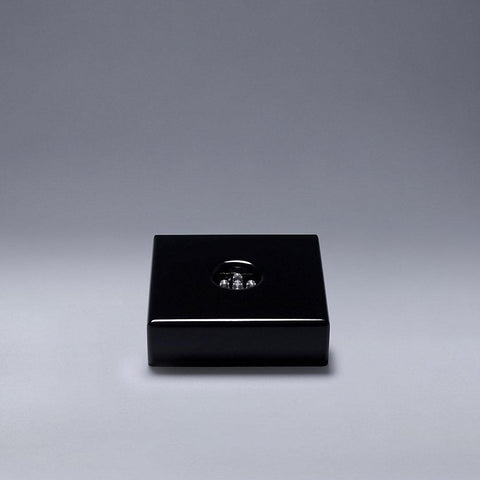 Small Black Wooden Base