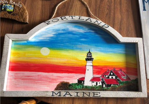 Portland Maine Painting