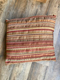 Oversized throw pillows - assorted sizes & patterns