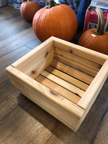 Pine planters by Maine Artisan: Carl Croce, Woodworker of Westbrook