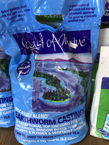 Coast of Maine Earthworm Castings