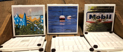 Maine photography on ceramic tiles by Artisan: Laurie Holmes
