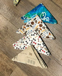 Doggie bandanas & scrunches by Artisan: Sara Bradley of Bradley Family Homestead