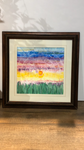 Original mattted watercolor painting by Portland Maine Artisan: Susan Selbe