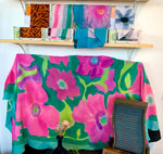 Hand painted silk chustkas (scarves & shawls) by Artisan: Michael Shyka