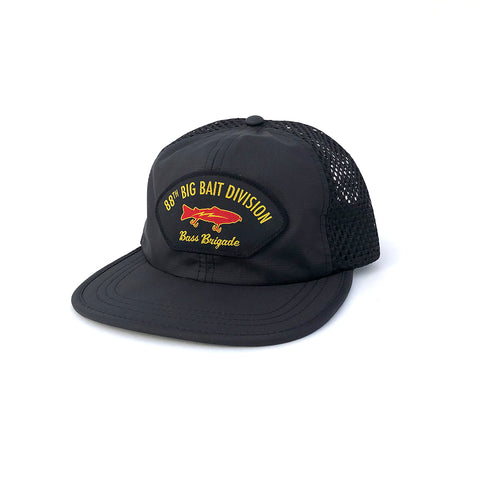 88th Big Bait Division Performance Mesh Hat - Black
