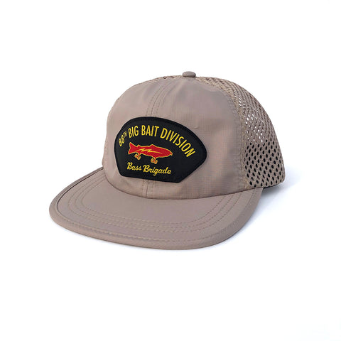 88th Big Bait Division Performance Mesh Hat - Khaki