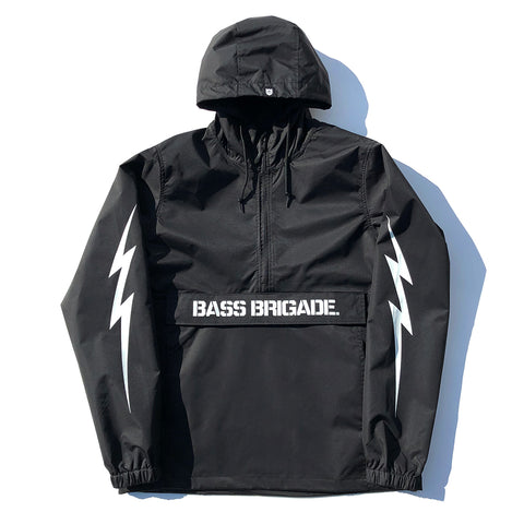 BRGD Bolt Anorak Jacket - Black