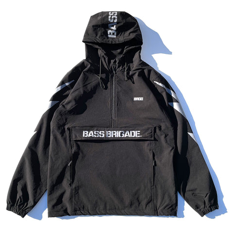 BRGD Bolt Anorak Jacket 2 - Black/Grey