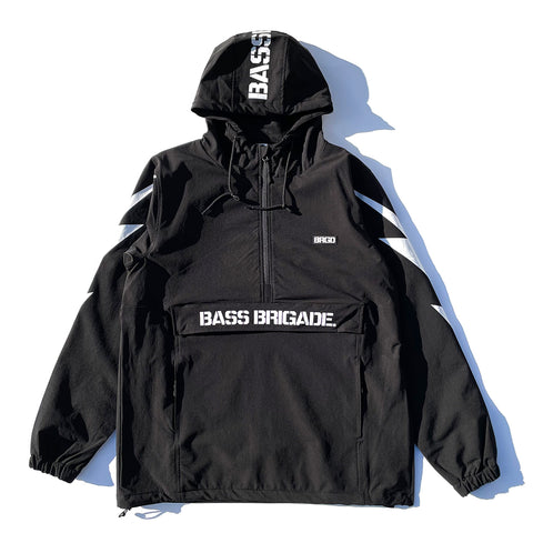 BRGD Bolt Anorak Jacket 2 - Black/White