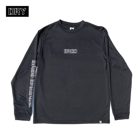 BRGD Outline Dry L/S Tee - Black/White