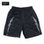 BRGD Bolt Outline Dry Shorts - Black/White
