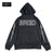 BRGD Bolt Outline Dry Zip Hoodie - Black/White