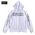 BRGD Bolt Outline Dry Zip Hoodie - White/Black