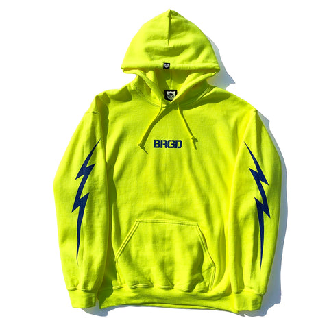 BRGD Bolt Hoodie - Safety Green