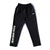 BB Word Mark Nylon Pants - Black/White