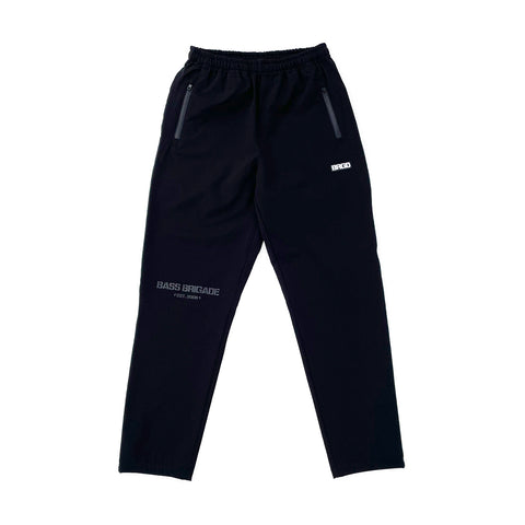 BB Word Mark Nylon Pants FBK - Black/Black