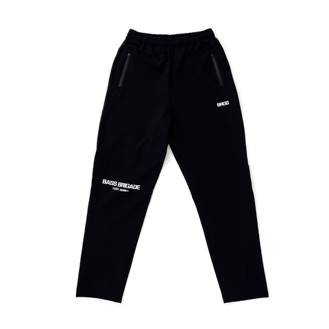 BB Word Mark Nylon Pants  FBK - Black/White