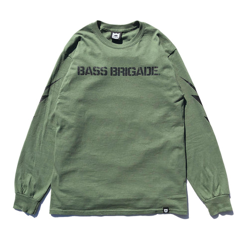 BRGD Bolt L/S Tee - Military Green