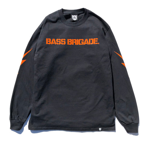 BRGD Bolt L/S Tee - Black/Orange