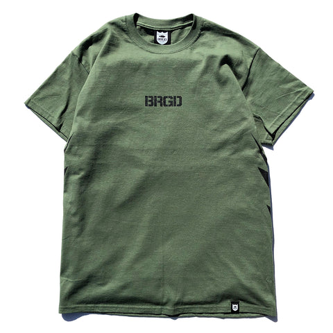 BRGD Bolt Tee - Military Green