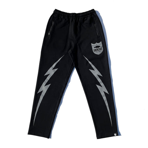 BRGD Bolt Sweat Pants 2 - Black/Grey