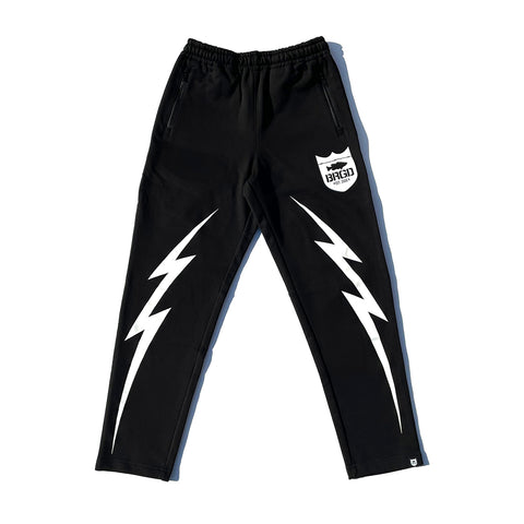 BRGD Bolt Sweat Pants 2 - Black/White
