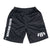 B-Bolt UV Cut Shorts - Black/White