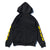 Bolt BRGD Zip Hoodie - Black/Yellow