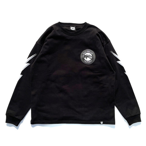 BB CA Bone L/S Tee - Black