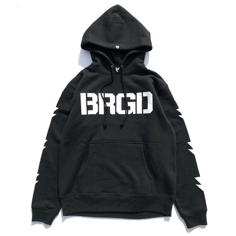 BRGD Division Hoodie - Black/White