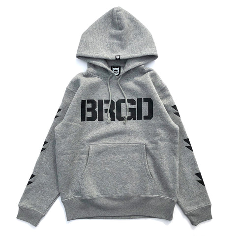 BRGD Division Hoodie - Heather Grey/Black