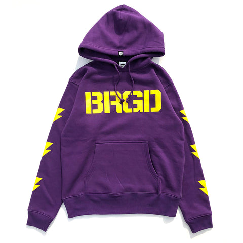 BRGD Division Hoodie - Purple/Yellow