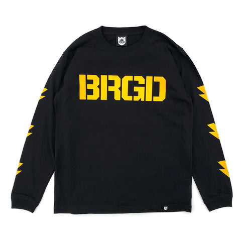 BRGD Division L/S Tee - Black/Yellow