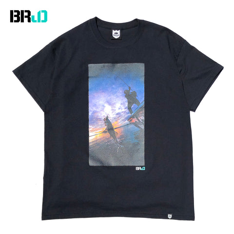 BRJD Tee #1 - Black/Color