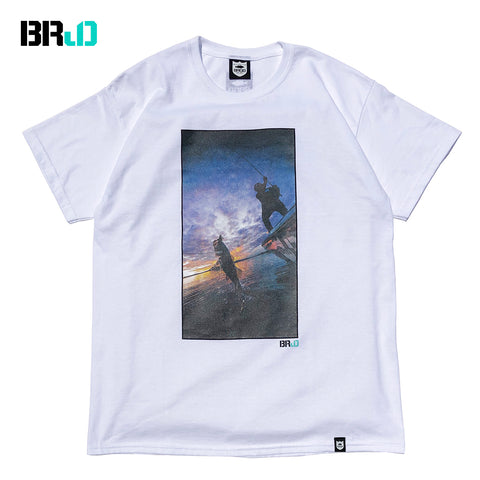 BRJD Tee #1 - White/Color