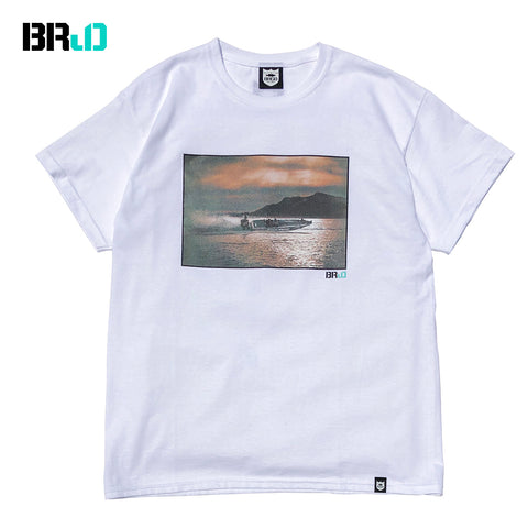 BRJD Tee #2 - White/Color