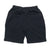 Shield Logo Sweat Shorts - Black